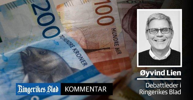 HASTER: - Det er kritisk viktig at det ikke går for lang tid før penger er på konto, skriver debattleder Øyvind Lien.