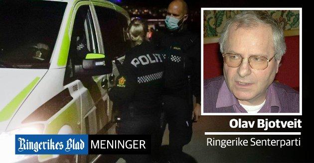 MÅ SNU: – Senterpartiet vil åpne flere lensmannskontorer og ansette flere politifolk, skriver Olav Bjotveit (Sp)