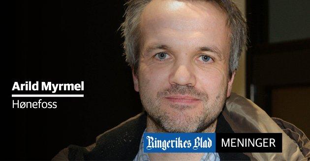 MANGLER: – Dersom jeg skulle flyttet igjen, ville jeg sett etter en kommune som var ærlig om sine mangler, sier Arild Myrmel, som selv er innflytter til Hønefoss.