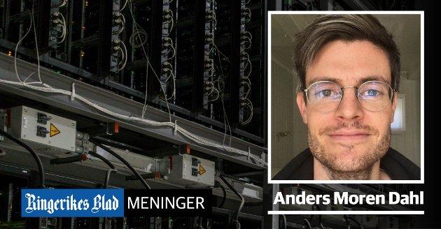 SPARING: – Bitcoin er en sparingsteknologi som erstatter behovet for gull som verdioppbevaring, skriver Anders Moren Dahl.