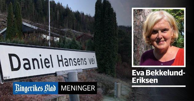 KLEIVLIA: – Hvem har ansvaret dersom det skjer ras her på grunn av en planlagt utbygging, spør Eva Bekkelund-Eriksen.