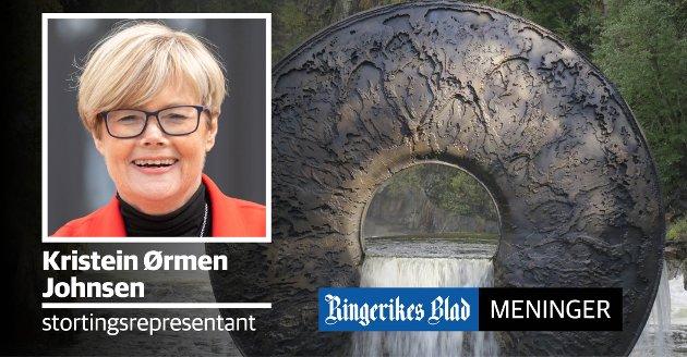 KULTURPENGER: Kistefos-museet får 2,6 millioner kroner. Det samme gjør flere andre lokale kulturinstitusjoner, som en følge av gaveforsterkningsordningen, skriver Kristin Ørmen Johnsen.