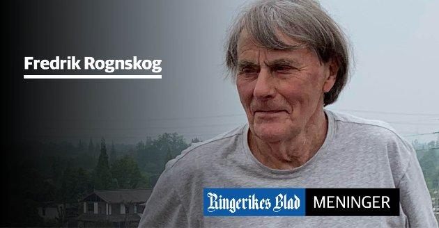 HJELP? – Det er greit at misbrukerne skal hjelpes, hvis de ønsker det, men vi må være realistiske og innse at det ikke hjelper med fine ord, skriver Fredrik Rognskog.