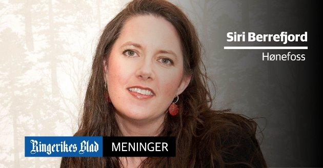 BANEN SKAL LØSE ALT: - Det virker som de styrende politikerne satser alt på ett kort, nemlig Ringeriksbanen, skriver Siri B. Berrefjord.