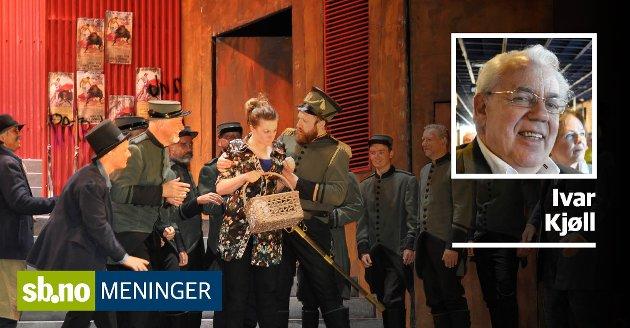 Ivar Kjøll er en ivrig musikkelsker, men har ingen bindinger til Vestfold Symfoniorkester.