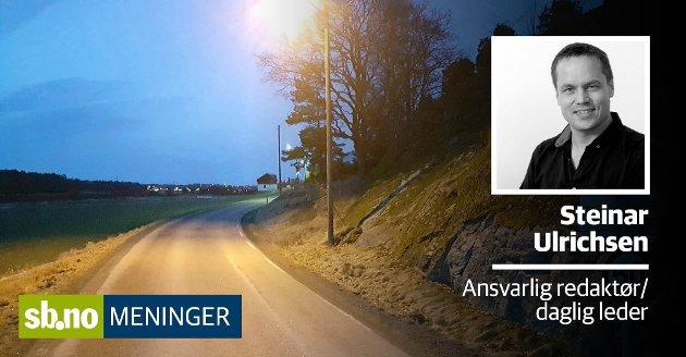 Mange som ferdes langs Haneholmveien forteller at den er trafikkfarlig.
