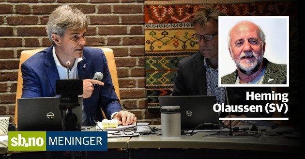 Ordføreren i Sandefjord likte ikke at den politiske ledelsen ble kritisert for å ha ansatt en rådmann på en måte som bryter med offentlighetsprinsippet.