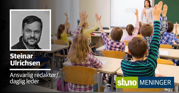 Får vi vite det, dersom en lærer oppdager noe som ikke fungerer eller noe som er skadelig? Er det ytringsfrihet i Sandefjordskolen?
