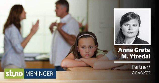 Hva hva gjør man med barna når man har gått fra hverandre?