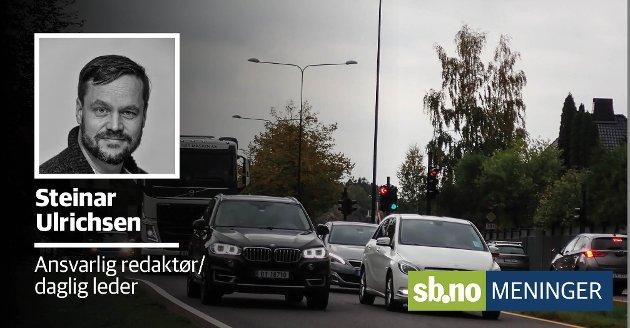 Er det trafikkstøy vi tenker på, når vi tenker på byens sjarm og leven?