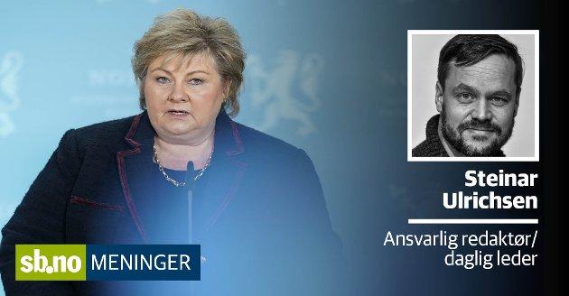 Søndag kveld varslet statsminister Erna Solberg om en høy smittetopp og strengere lut mot koronasmitte. Senere fulgte Sandefjord kommune opp med å avlyse årets leirskole - som skulle ha startet i dag.
