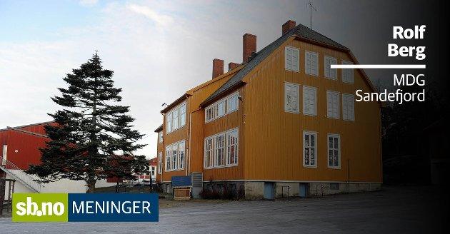 Frammnes skole på Vesterøya er en av tre skoler som nå er oppe til diskusjon.