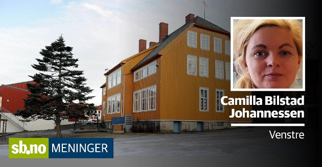 LIMET: Skolen er også limet i lokalsamfunnet, skriver Camilla Bilstad Johannessen. Her ser vi Framnes skole på Vesterøya.