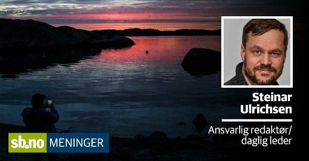 Tilgang på strandsonen er en viktig verdi for befolkningen i Sandefjord, her i Folehavna.