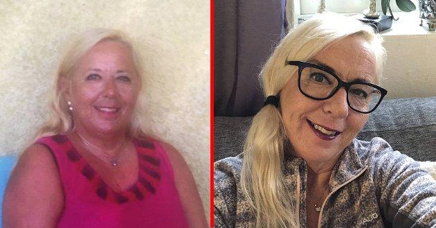 Linda før og etter endring i livsstil. – Jeg måtte gjøre noe med livet mitt for å få det godt med meg selv, både fysisk og psykisk.
