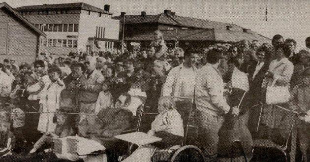 En stor folkemengde møtte opp til feiringen av Vardøs 200 år.