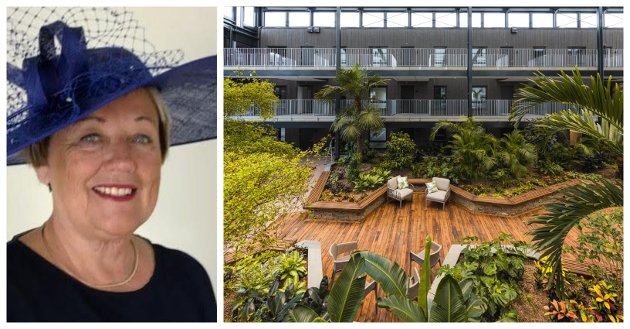 MER AV DETTE: Signaturhagen på Borgheim er imidlertid et godt eksempel som vi ønsker mer av, skriver Magda Flatmo om boligutvikling i Færder kommune.