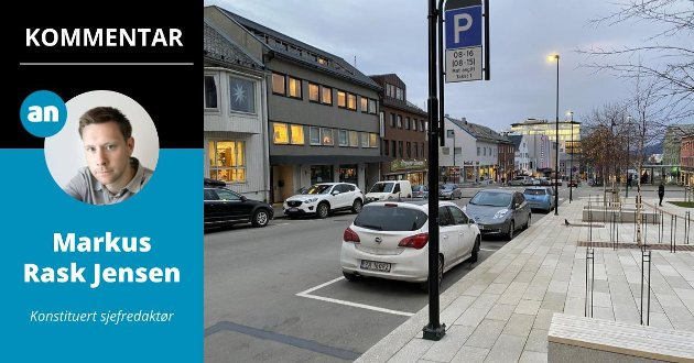 Hvilke følger får endringen i avgiftsperioden for Bodø sentrum og de næringsdrivende? Det spør konstituert sjefredaktør Markus Rask Jensen seg.