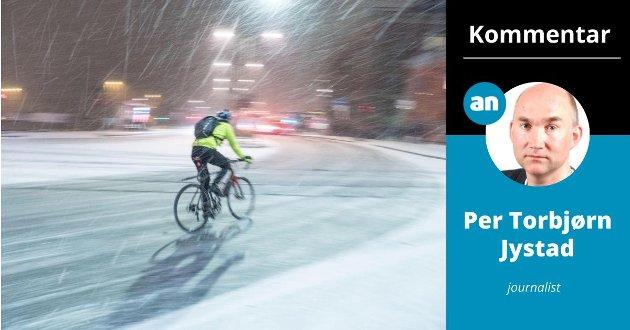 Målet er at Bodø kommune skal ha en sykkelandel på 25% innen 2025. Jeg garanterer at dit når vi aldri.