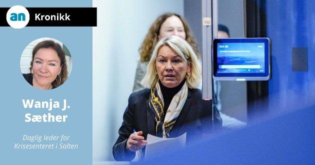 Justis- og beredskapsminister Monica Mæland, kunne på vegne av regjeringen opplyse om at de ikke tok lovforslaget om portforbud til Stortinget.