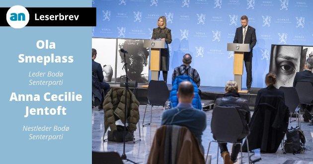 Helse- og omsorgsminister Bent Høie og kunnskaps- og integreringsminister Guri Melby presenterte regjeringens forslag til rusreform 19. februar 2021.