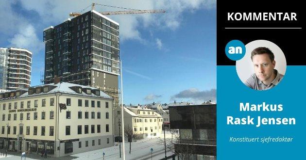 Omtale av dyre leilighetsprosjekter blir ofte kritisert. Og ofte med rette, mener konstituert sjefredaktør Markus Rask Jensen.