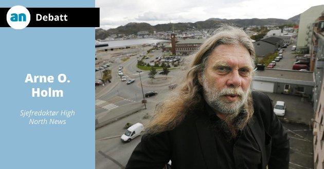 Arne O. Holm er kritisk til AN.
