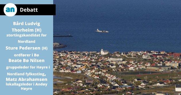 - En rekke positive nyheter for Andøy-samfunnet, gir grunn til å se framover med optimisme.