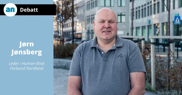 Jørn Jønsberg, leder i Human-Etisk Forbund Nordland.