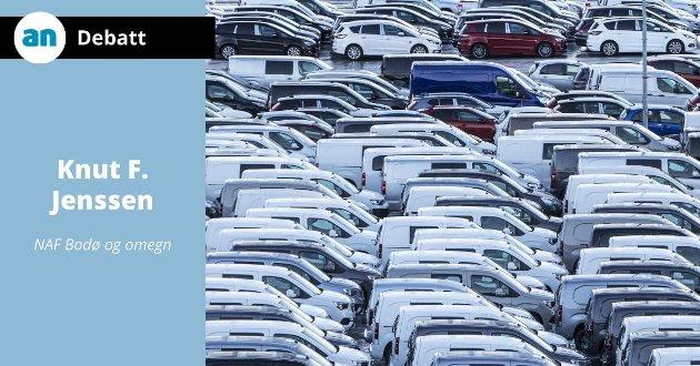 - Biler ruster mer og mer, hevder Knut F. Jenssen.