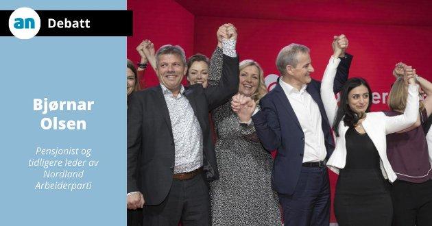 - Jonas og Arbeiderpartiet må nå spørre seg om de kan fortsette med en nestleder som kommer til å koste partiet 3-6% mindre oppslutning ved det kommende stortingsvalget, skriver Bjørnar Olsen.