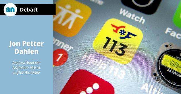 En av de viktigste appene du kan ha på smarttelefonen din er appen «Hjelp 113».