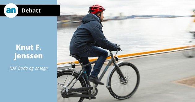 Det med bedring av forholdene for gående og syklister er jo et beundringsverdig tiltak.