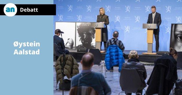 Helse- og omsorgsminister Bent Høie og kunnskaps- og integreringsminister Guri Melby presenterer regjeringens forslag til rusreform.