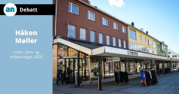 – Fargebruk er åpenbart en del av det arkitektoniske uttrykket til et bygg, skriver Håkon Møller, leder for plan- og miljøutvalget i Bodø kommune.
