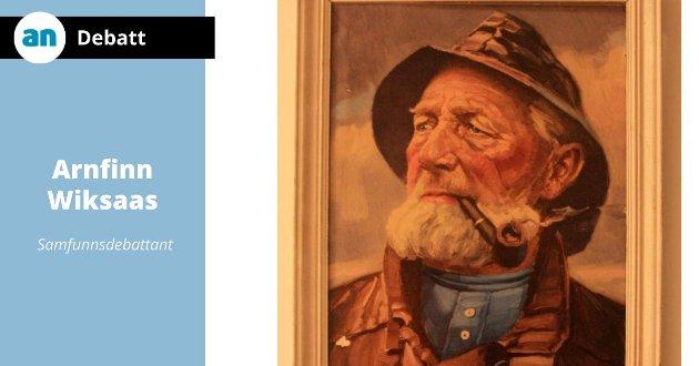 Personen som er foreviget på maleriet, døde for 93 år tilbake .