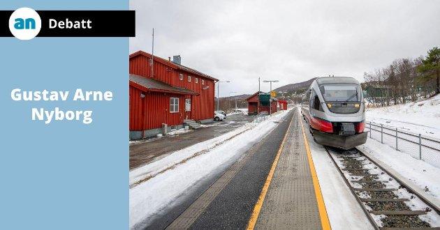 Nordlandsbanen, Fauske stasjon.