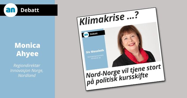 Mer enn over 8 prosent av våre midler havnet i Nordland, ikke 3 prosent, slik Mossleth hevder.