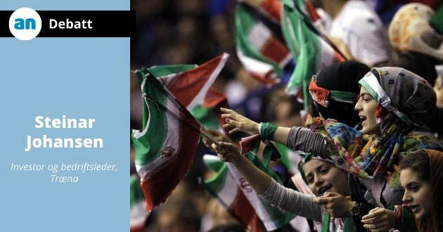 Kvinners frihet i Iran begrenser seg til å få se volleyball.