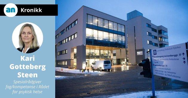 I åpen dør-tilnærmingen ved Lovisenberg Diakonale sykehus er utgangspunktet frihet, og pasientene som blir lagt inn ved en psykiatrisk sengepost møter dører som er åpne, ikke låste.