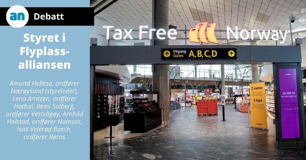 For Distrikts-Norge er Avinors finansiering av de mindre og mellomstore flyplassene helt avgjørende for videre utvikling i regionene.