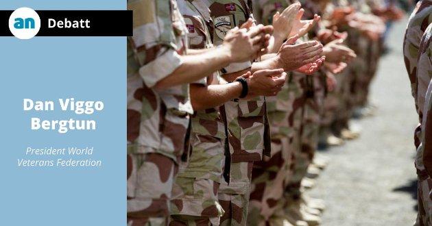 Fra en tidligere seremoni der norske soldater blir hedret for sin innsats i Afghanistan.