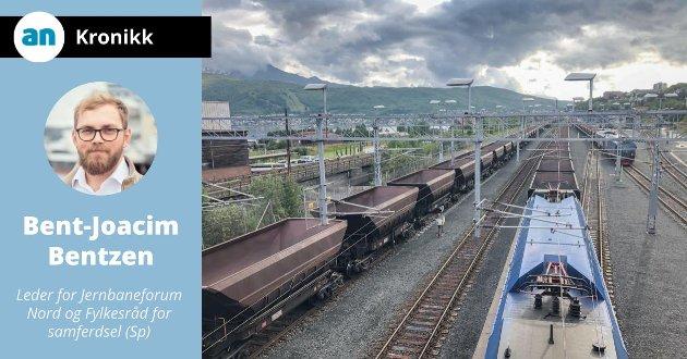 Ofotbanen,Norges nordligste jernbanestrekning, er elektrifisert og dermed CO2-fri, og den eneste grensekryssende jernbane i Nord-Norge.