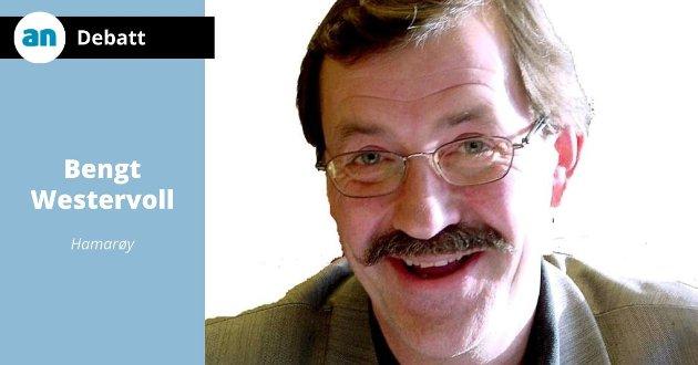 Forretningsmann Bengt Westervoll  daglig leder for OKI Norge  Har flere forretningsideer på Tranøy i Hamarøy.