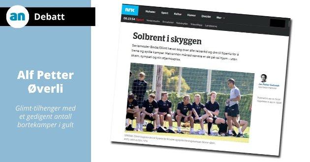 NRK-kommentator Jan Petter Saltvedt får kraftig motbør av Alf Petter Øverli.