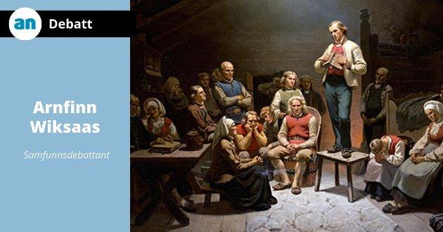 """Adolph Tidemand: """"Haugianerne"""" 1848"""