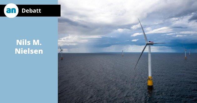 Equinors Hywind Buchan vindmølleanlegg  utenfor Skottland.