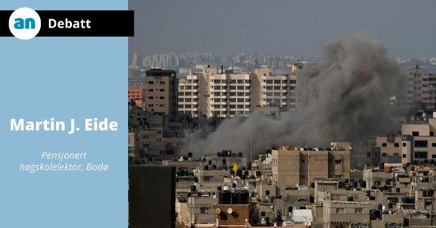 Bombing av Gaza by.