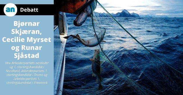 Fiskeri- og sjømatnæringen er bærebjelken i store deler av Kyst-Norge, og den fremste forutsetningen for bosetting en rekke steder i nord.