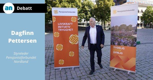 Forbundsleder i Pensjonistforbundet Jan Davidsen var med på å forhandle fram et trygdeoppgjør vi kan snakke høyt om.